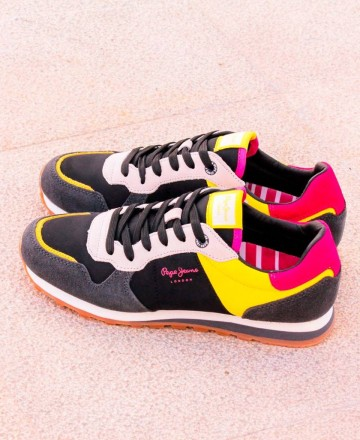 Pepe Jeans PLS30901 colorful shoe