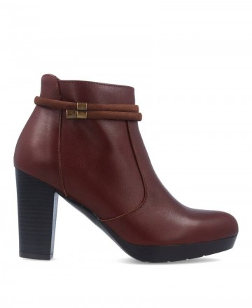 women shoes -  High heel ankle boots Patricia Miller 1013