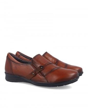 Zapatos casual Fluchos Noa Sugar F9154 cuero