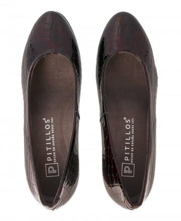 Catchalot Zapatos de salón en coco Pitillos 5761 burdeos