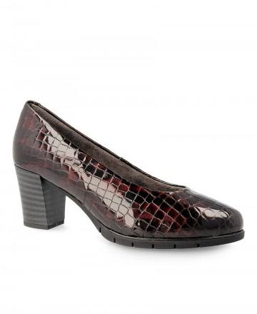 Zapatos de salón en coco Pitillos 5761