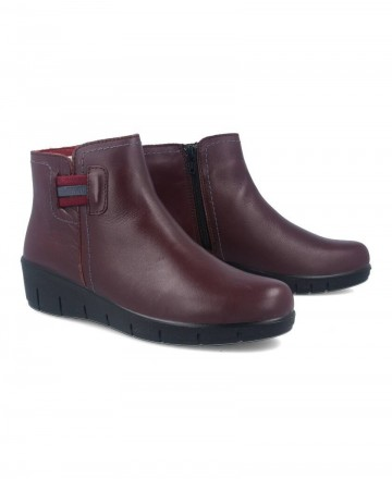 Luisetti 17150 leather ankle boots