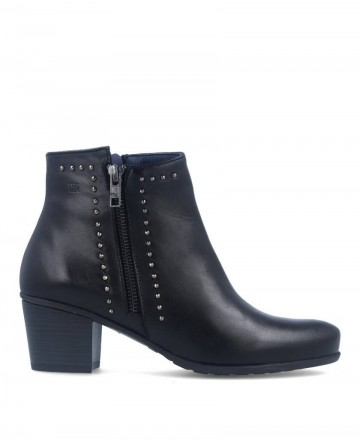 Ankle boot with studs Dorking Flanges D7921