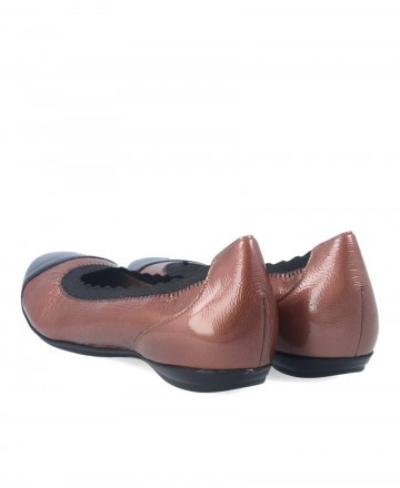 Wonders internal wedge ballerina A-30124