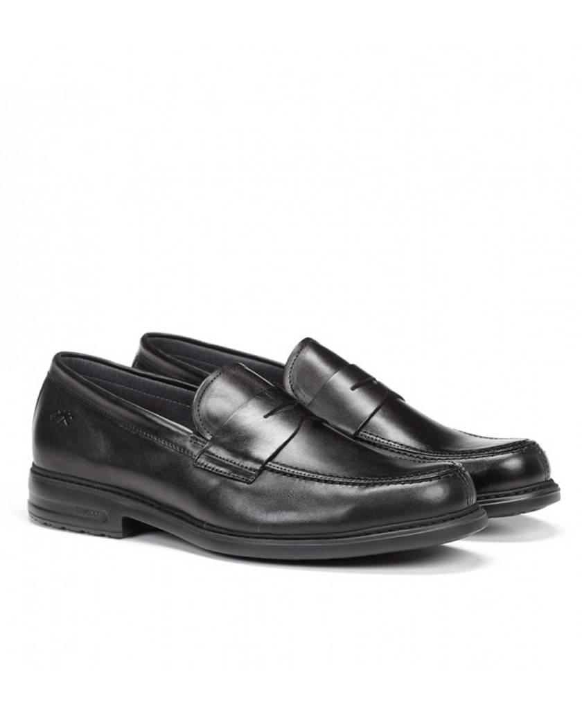 Zapatos de para hombre en color negro Caracteristicas sin Cordones altura de piso 3 cm piso extra light exterior piel e interio