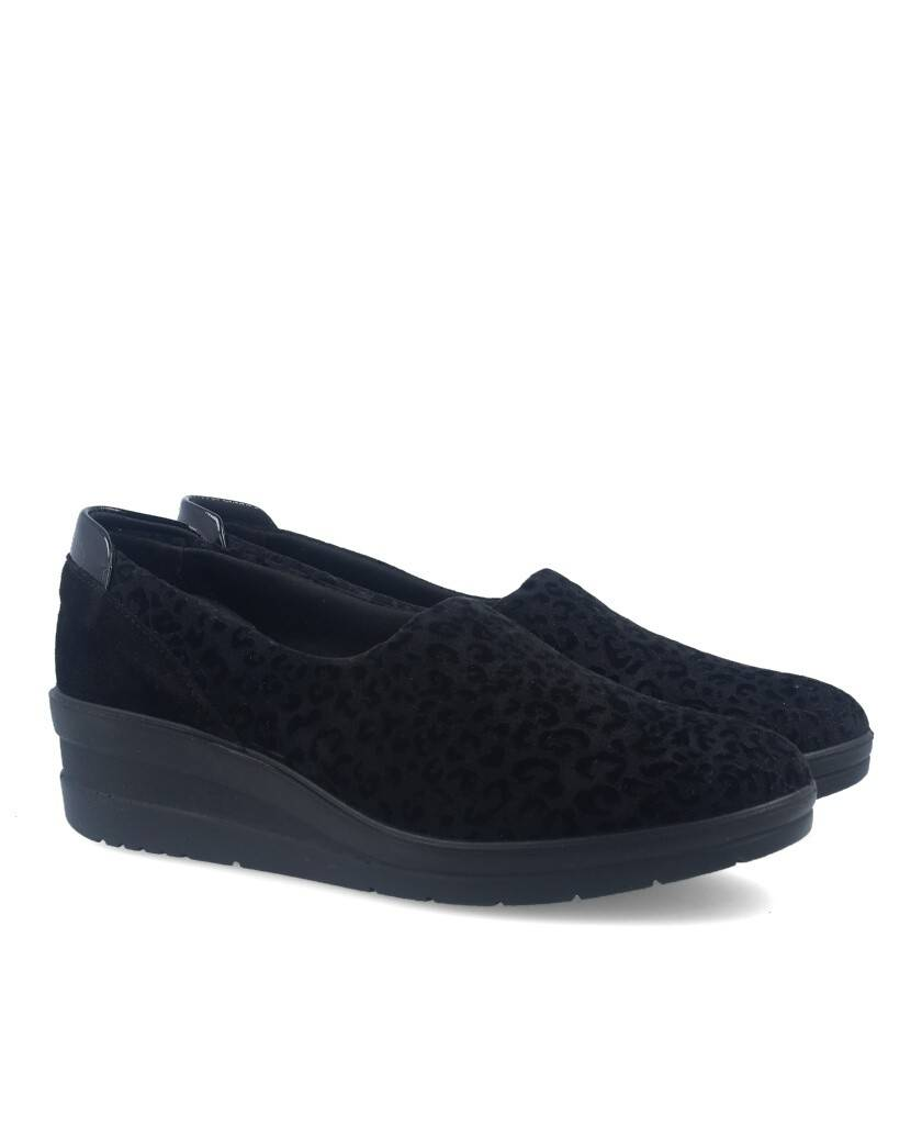 leopard casual shoes