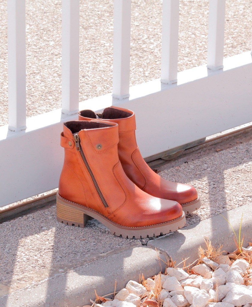 Andares leather ankle boot 801300