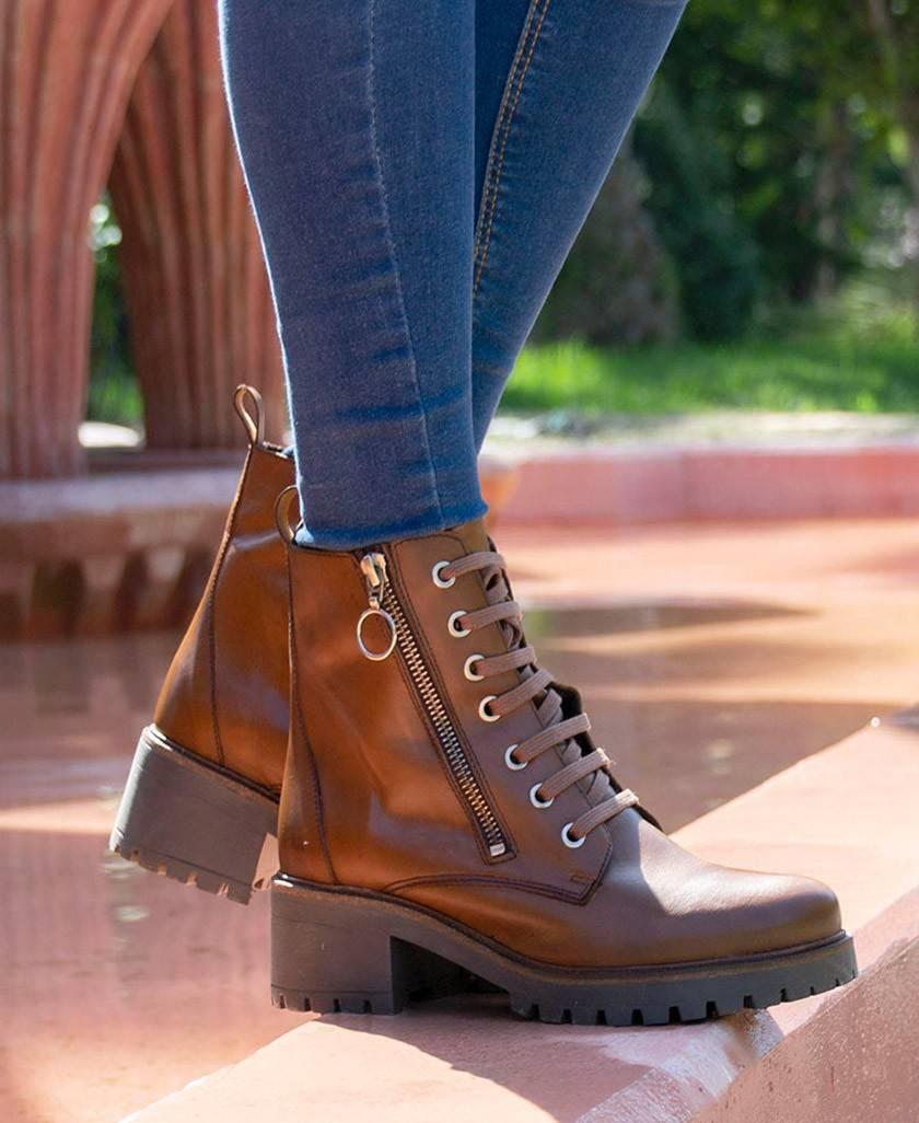 Tambi Arroyo brown ankle boot