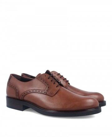 Zapatos oxford color cuero Kennebec 2094