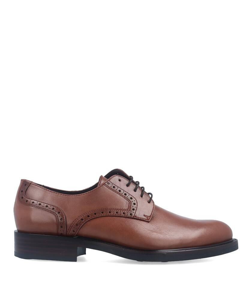 Zapatos para hombre en color cuero Caracteristicas con cordones altura de piso 3 cm zapato de estilo casual suela de goma termo