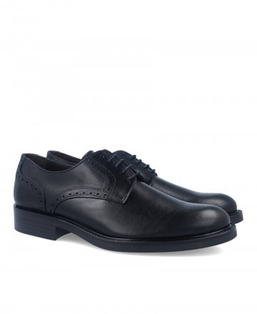 Black oxford dress shoes Kennebec 2094