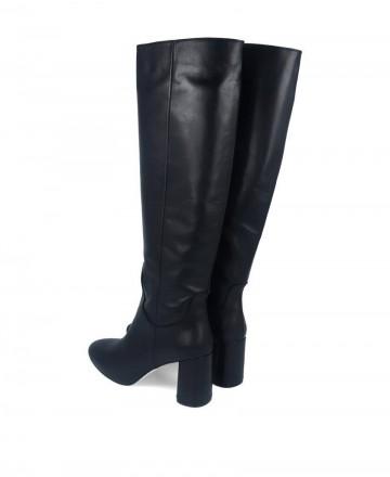 Botas altas con tacón Tambi Rita negro