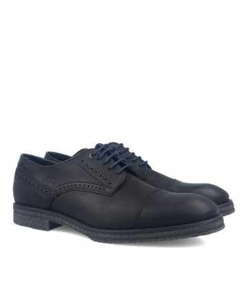 Black Fluchos Desert Oxford shoes F0654