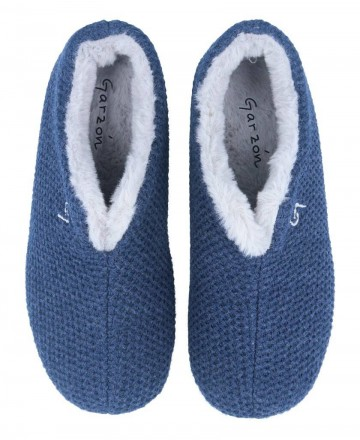 Catchalot House slippers closed in blue Garzon 5821.291