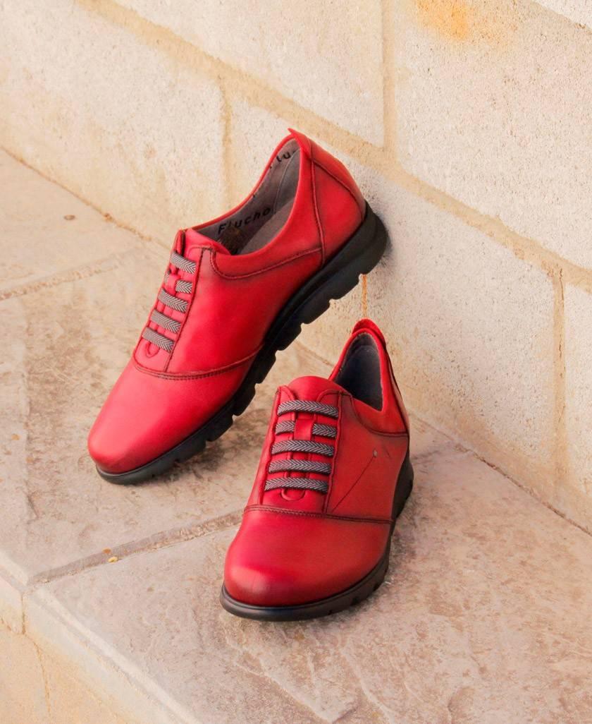 Fluchos Sugar Picota red shoes