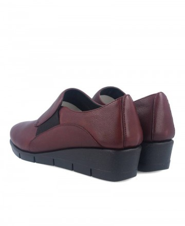 Wedge shoes The Flexx New Run For It B235 18 burgundy