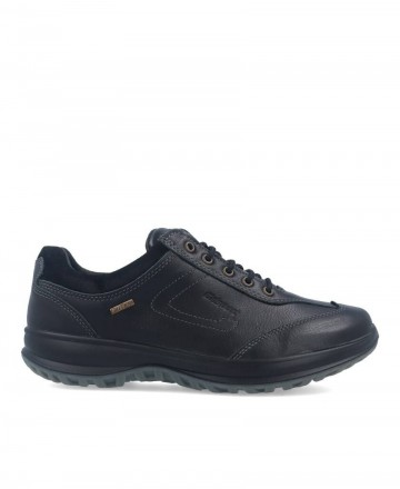 Grisport 8635 waterproof men's black shoes