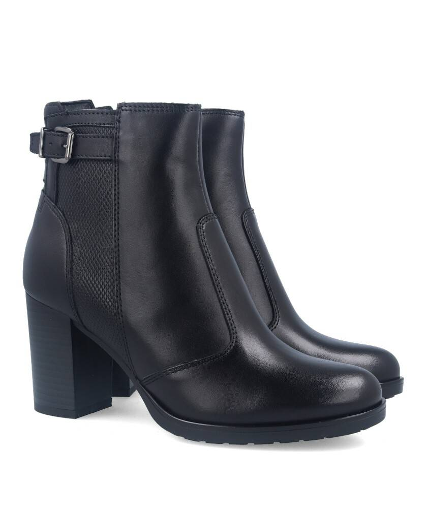 High black ankle boots Catchalot 3228