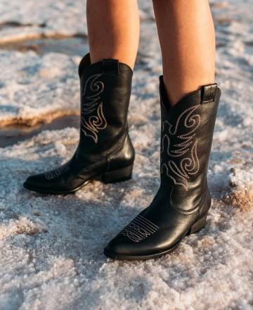 Catchalot Leather boots Bryan Jandra