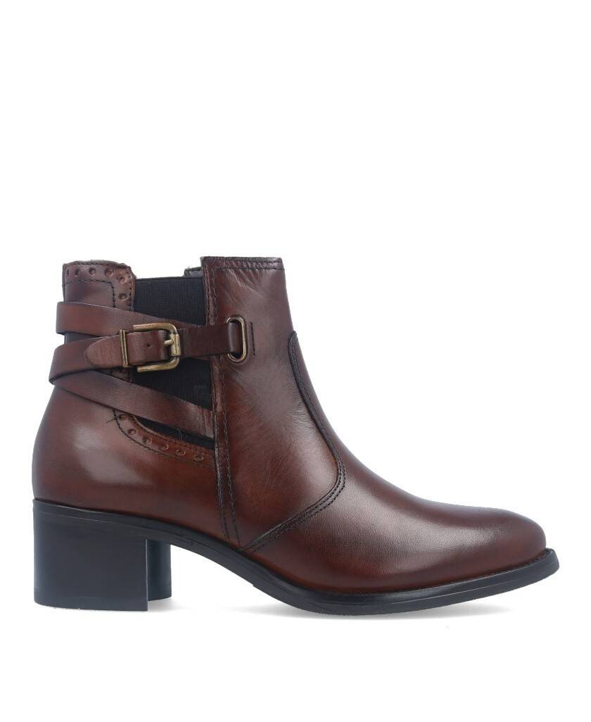 Catchalot 5132 Brown Ankle Boots