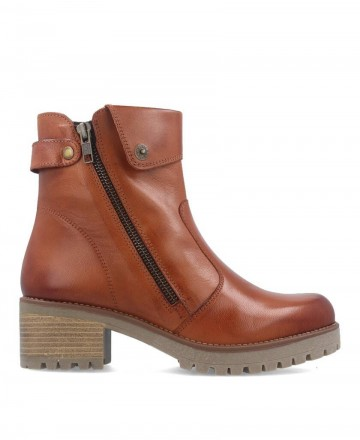 Andares 801300 leather military ankle boot