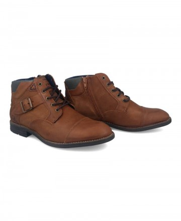 Catchalot J4973-TV67 Buckle Leather Boots
