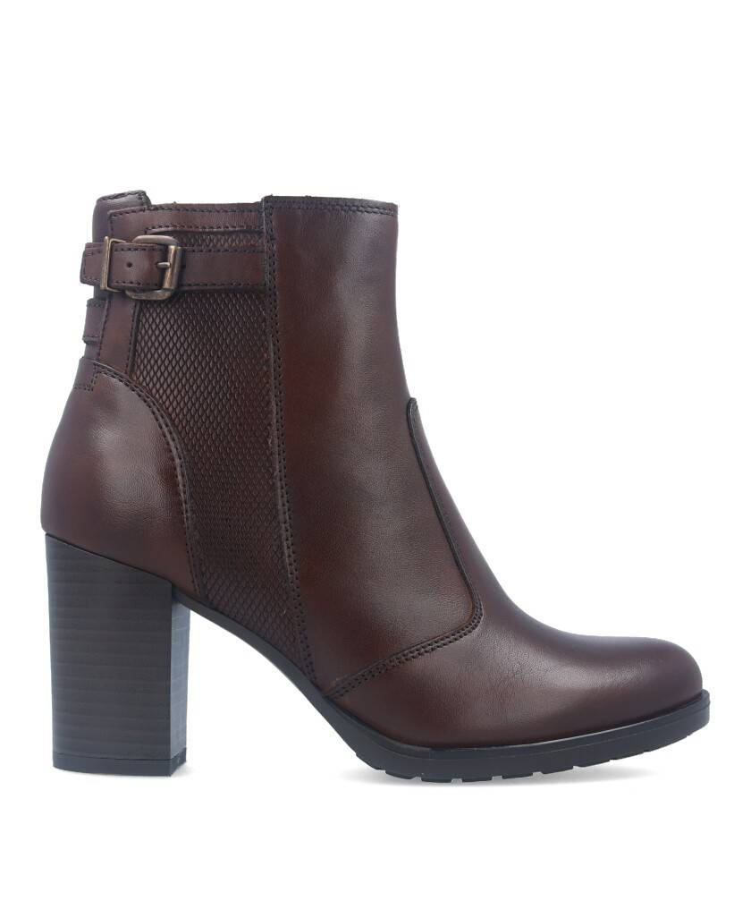 Casual brown ankle boots Catchalot 3228