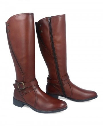 Catchalot Myers brown high boots L046 W13107-B