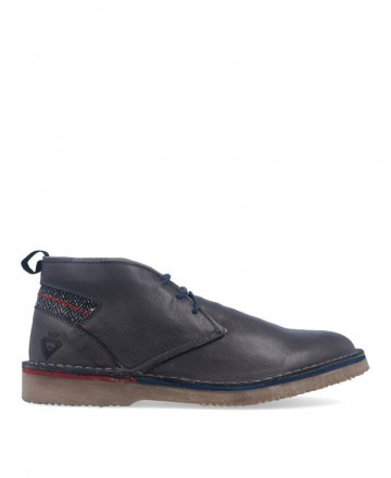 Catchalot BK 101 Gray Leather Desert Boots