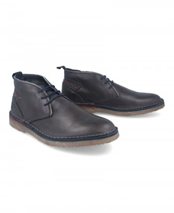 Catchalot Catchalot BK 101 Gray Leather Desert Boots