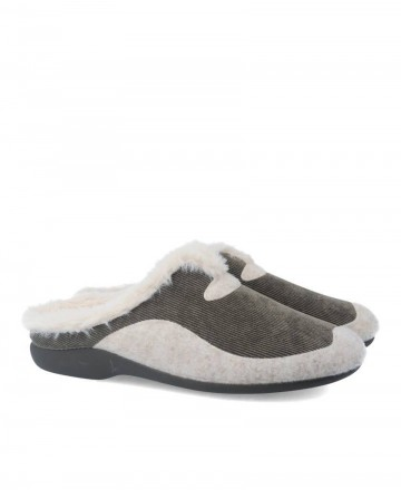 Garzon 7450.236 khaki House slippers