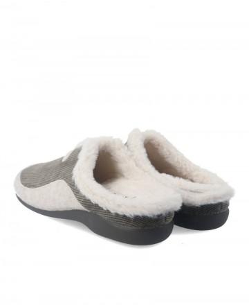 Zapatillas de casa Garzon 7450.236 caqui
