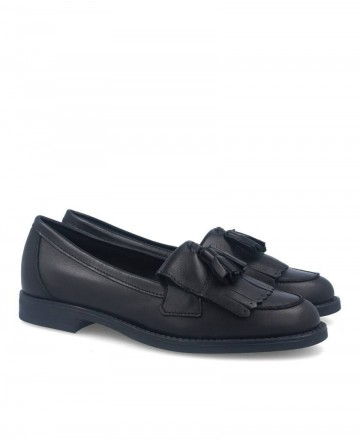 Stilmoda 1110 black loafers