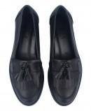 Stilmoda 1110 black loafers