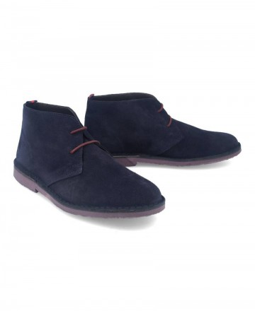 Catchalot Blue Catchalot Safari ankle boots