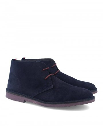Blue Catchalot Safari ankle boots