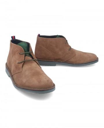 Catchalot Camel suede safari boots