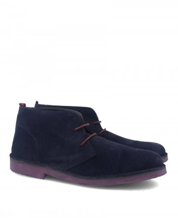 Catchalot Blue Safari Chukka Boots