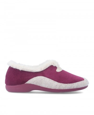 Garzon 7950.236 Burgundy House Slippers