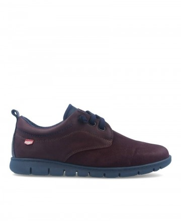 Blucher On Foot Flex 8551 Bordeaux