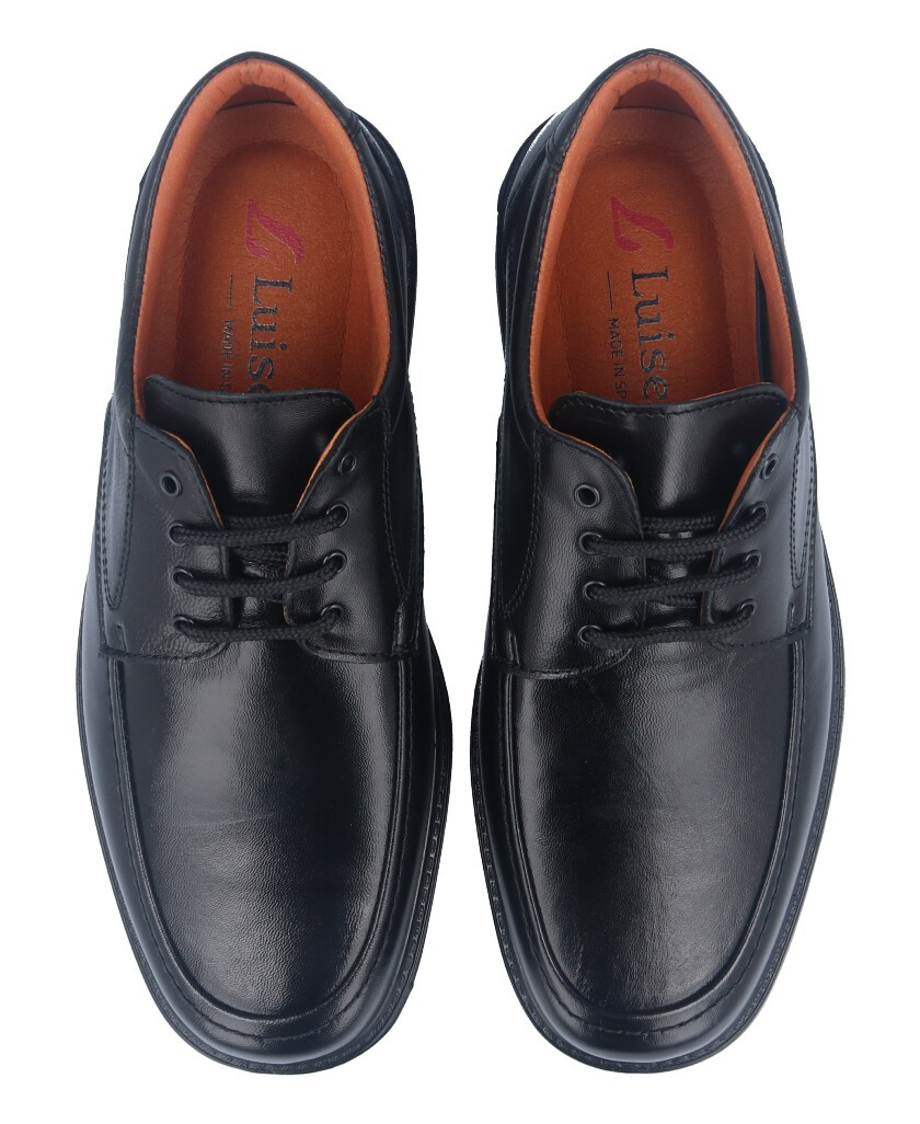 Zapato negro Luisetti 0107