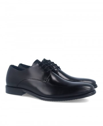 Hobbs black groom shoes MA97504