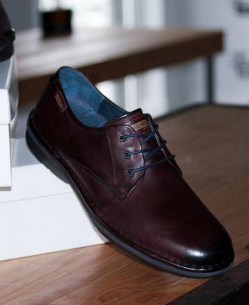 Zapatos de hombre Pikolinos Lugo M1F-4091 marrón