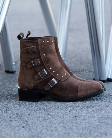 Catchalot Buckle ankle boot Alpe Alain 4304
