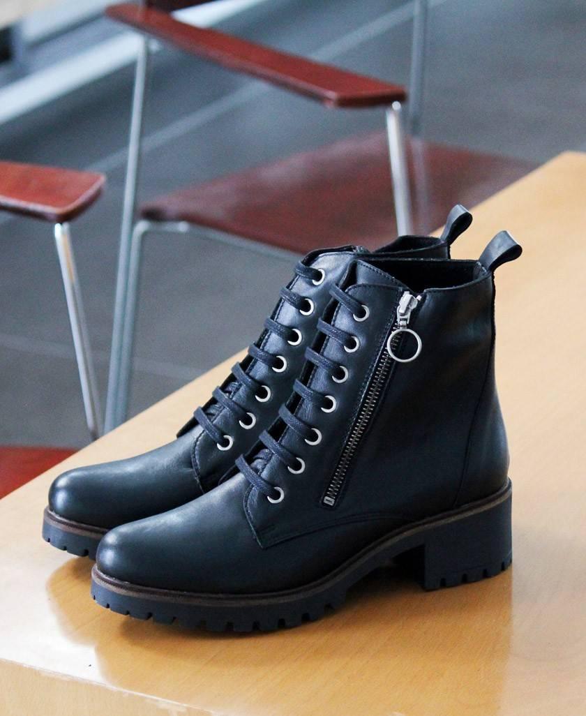Tambi Arroyo black ankle boots