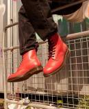 Dr. Martens Cherry Red Smooth red smooth boot