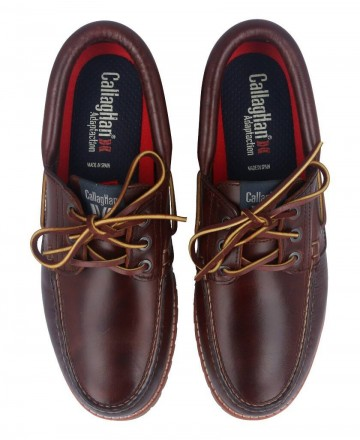 Callaghan Tanke 86400 Brown boat shoes