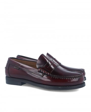 Callaghan America burgundy loafers 76100