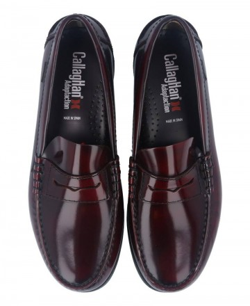 Catchalot Callaghan America burgundy loafers 76100