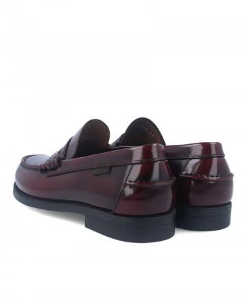 Callaghan America burgundy loafers 76100